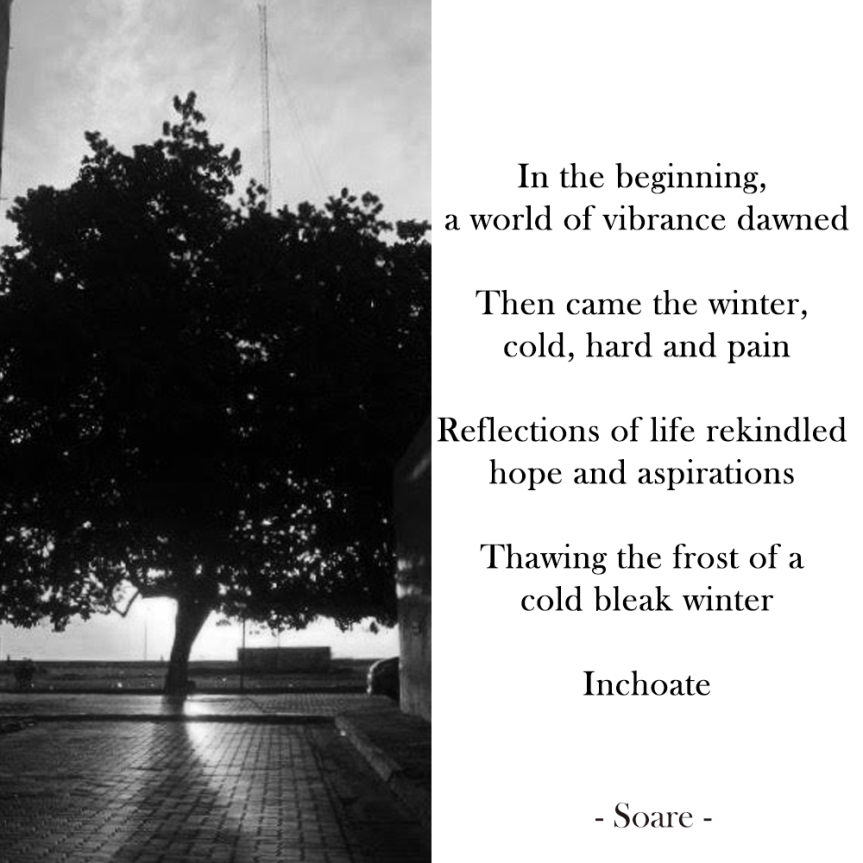 Inchoate – The beginning